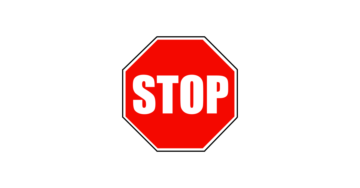 Stop Sign PNG Graphic Cave
